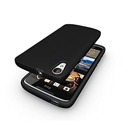 SmartLike Hybrid Candy Silicon Back Cover for HTC Desire 828 Dual SIM Mobile Phone Cases   Covers