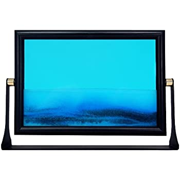 this item sand picture 5x7 inch blue