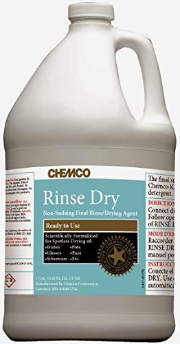 Chemco Rinse Dry (Case of 2-1 Gal)