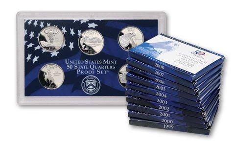 1999 - 2008 US MINT BU