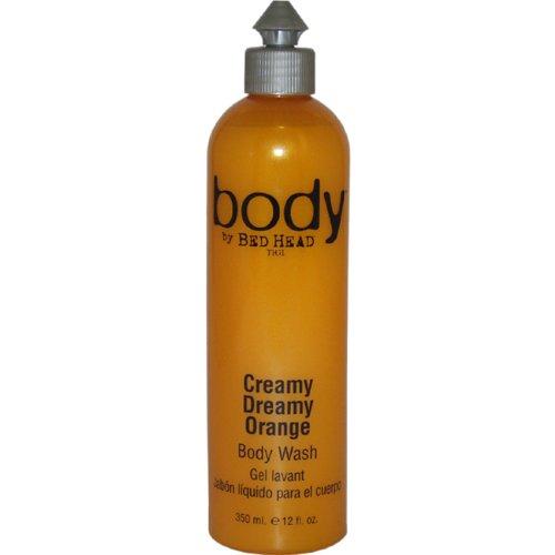TIGI Bed Head Creamy Dreamy Orange Body Wash, 12 Ounce