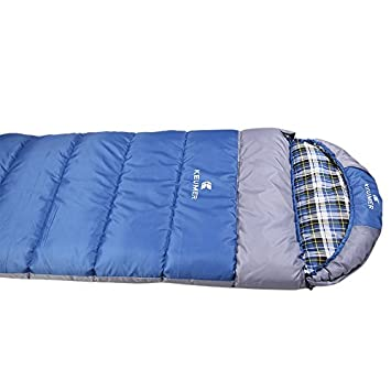 Outdoor Camping Adult Hiking Sleeping Bag Envelope Hollow Cotton Warm Sleeping Bags for Camping and Hiking