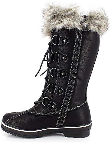 Kimberfeel - Botas de nieve para mujer, blanco, 38  AcxjO