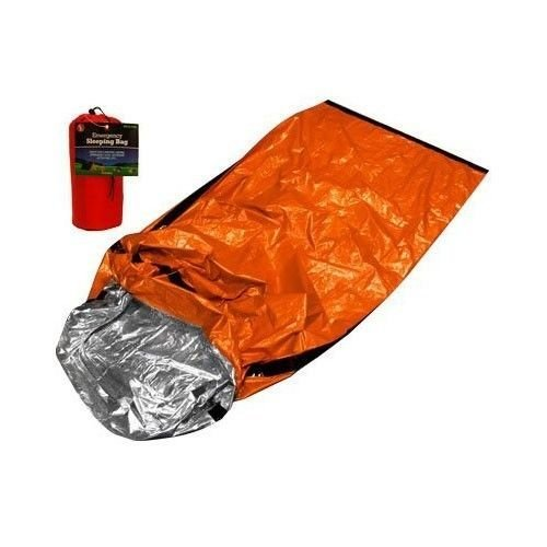 Mylar Emergency Sleeping Bag Wilderness Camping Outdoor Survival cold weather by Sona