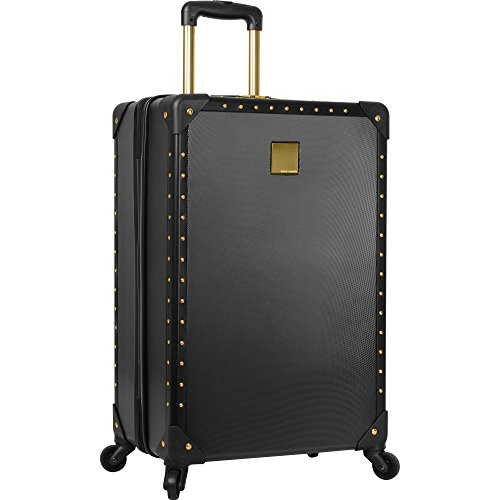 Vince Camuto Hardside Carry-on Spinner Luggage Black/Gold