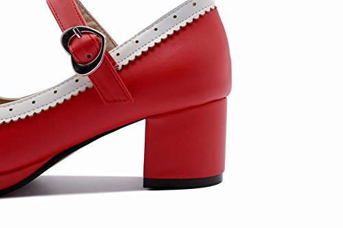 DONNA MissSaSa VINTAGE SCARPE DOLCE Rosso YUqwOdq