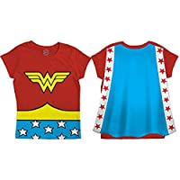 DC Comics Wonder Woman Toddler Costume Cape Tee (2T)
