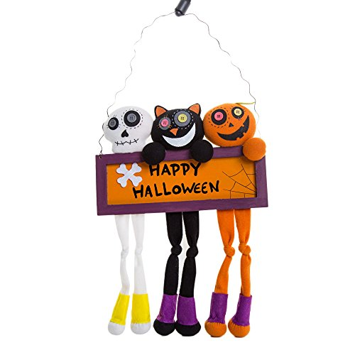 Putars Fashion Cute Halloween Props Suspension Label Accessories Door And Window Party Decorate for Halloween Home (Halloween 6 The Producer's Cut)