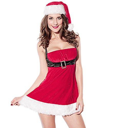 Papaya Santa Cosplay Christmas Costume