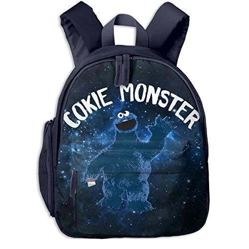 Kaddias Cookie Monster Children's Bags Navy One ()