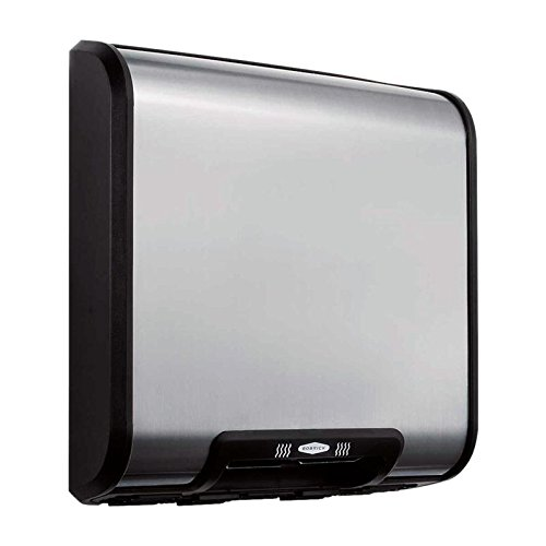 Bobrick 7128 TrimLineSeries 304 Stainless Steel ADA Surface-Mounted Automatic Hand Dryer, Satin Finish, 115V by Bobrick