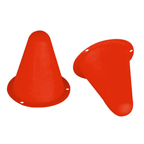(Skating Cones Slalom, 20Pcs/Pack Skate Cup Agility Speed Training Equipment Roller Marker Colorful Pathroad Obstacle Cones Toy)
