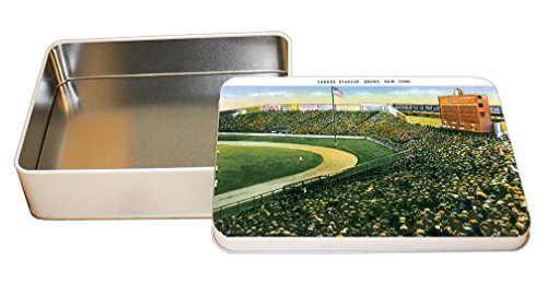 Yankee Stadium, Bronx Ny Decorative Metal Tin Trinket Box 6