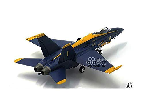 JC Wings USA F-18 Navy Bumblebee Blue Angel 1/72 diecast Model Aircraft
