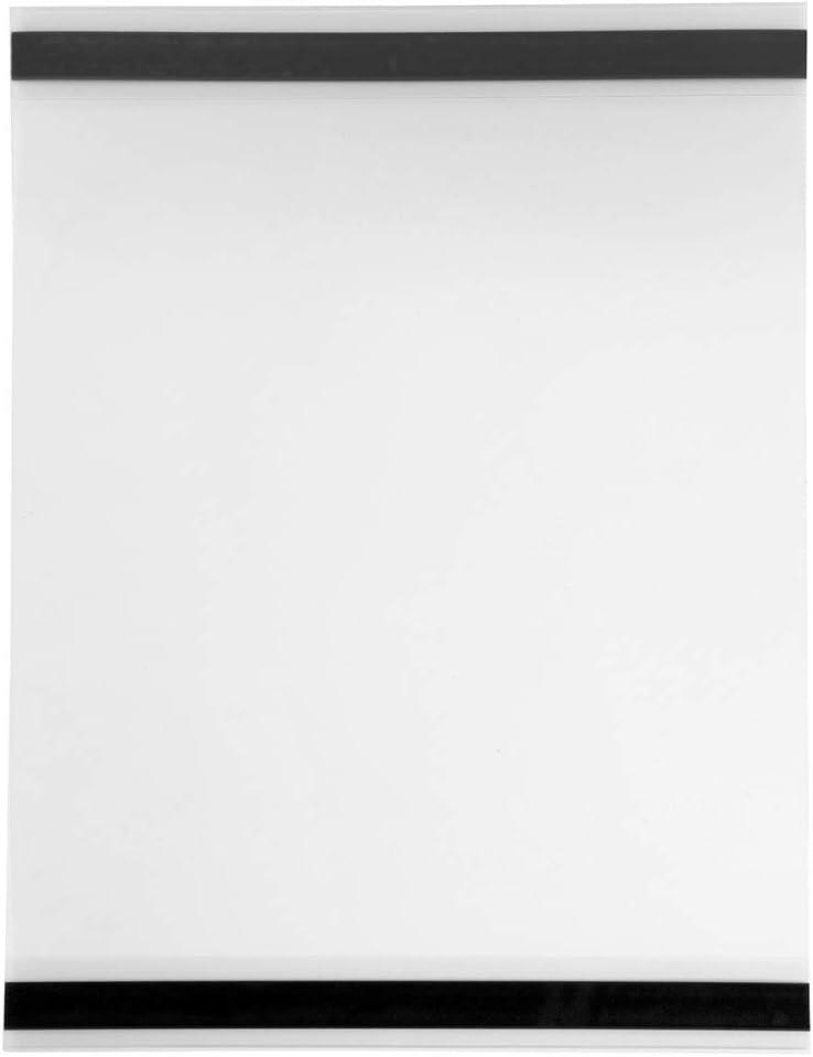 10 St/ück DIN A3 Sichttasche im Hochformat magnetisch Infotasche//Schildhalter//Plakattasche//Magnettasche//Blatthalter//Inforahmen//Einstecktasche//Plakathalter Zeigis/®