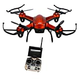 Smdoxi_toys Rc Airplane Drone Helicopter Remote Control Toy Car H32GH 5.8Ghz FPV 2.4Gh CF Aerial 6Axis 4CH Quadcopter RTF 2MP Camera Drone OR
