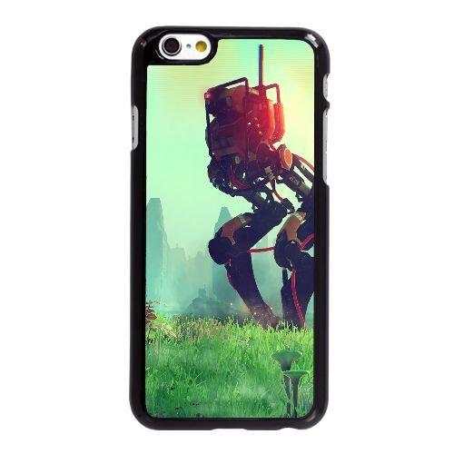 N7Z51 No Mans Sky Environnement M8N1BW coque iPhone 6 Plus de 5,5 pouces cas de couverture de téléphone portable coque noire HZ0ERC0PG