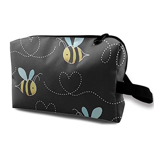 Borsa viaggio in borse gialla bumblebee da da custodia viaggio per donna per da accessori da donna tessuto impermeabile qxrt0qYw