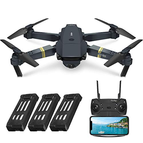 EACHINE E58, Drone with Camera for Adults Drone for Beginners with Altitude Hold, WIFI FPV Quadcopter With 2MP 720P Wide…