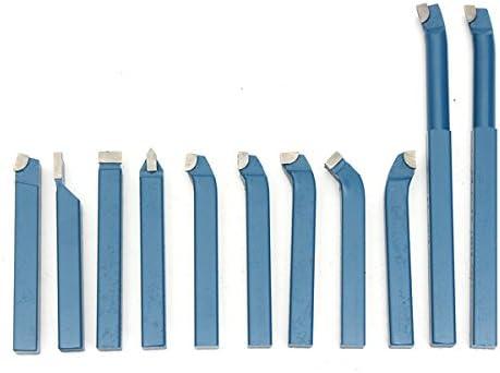 cabezal soldadura carburo herramienta torneado m/áquina ensamblaje piezas corte insertos torneado para procesamiento tornos industri 10x10mm Juego herramientas torno 5piezas