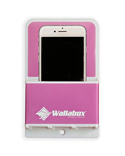 - Wallabox (Hot Pink) - Universal Cell Phone Holders, Wall Mount - Fits All iPhone & Android Phones. Great for Bedroom, Bathroom, Office, Car, Charging Station. 3M Removable Non-Damaging Strips