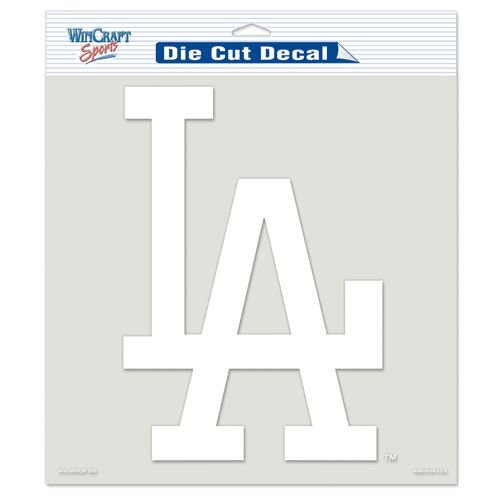 (WinCraft MLB Los Angeles Dodgers WCR24916091 Perfect Cut Decals, 8