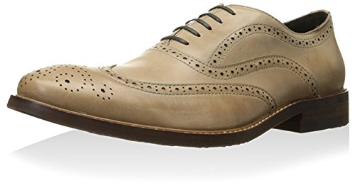 Kenneth Cole New York Mens Roll The Dice Oxford Beige