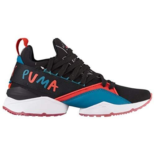 熟したにやにやさておき(プーマ) PUMA レディース バスケットボール シューズ?靴 Muse Maia Graphic [並行輸入品]