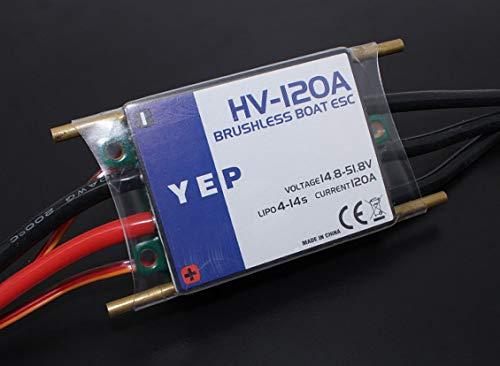 Opto Brushless Speed Controller - HobbyKing YEP 120A HV (4~14S) Marine Brushless Speed Controller (Opto)