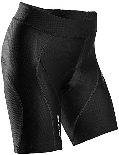 Sugoi Damen kurze Radhose Rs Shorts, Schwarz, S, 38384F.BLK.2