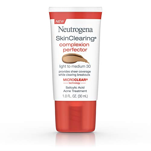 Neutrogena Skinclearing Complexion Perfector With Salicylic Acid, Light - Medium, 1 Fl. Oz.
