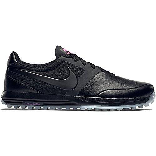 - Nike Lunar Mont Royal Mens Golf Shoes 652530 Sneakers Trainers (US 10.5, Black White Pink Power 005)