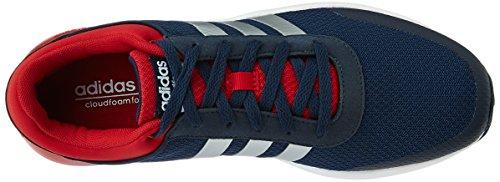 adidas Cloudfoam Race, Zapatillas de Deporte Interior para Hombre Azul (Maruni / Plamat / Rojpot)