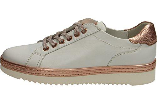 Sioux Damen Oxiria-700-Xl Sneaker Weiß (Weiss/Rosewood)