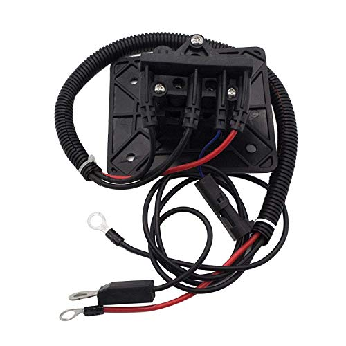 - 10L0L 602529 Golf Carts Charger Receptacle for EZGO RXV & 48V TXT OEM