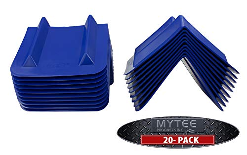 (20 Pack) Corner Protector V Edge Guard - 8'' x 12'' by Mytee Products (Image #2)