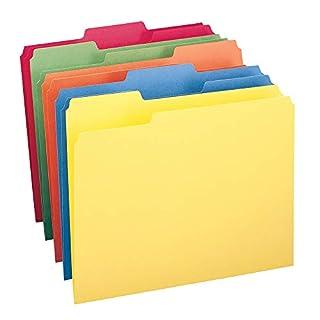 Smead File Folder, 1/3-Cut Tab, Letter Size, Assorted Colors, 100 per Box, (11943) (B00006IF1S) | Amazon price tracker / tracking, Amazon price history charts, Amazon price watches, Amazon price drop alerts