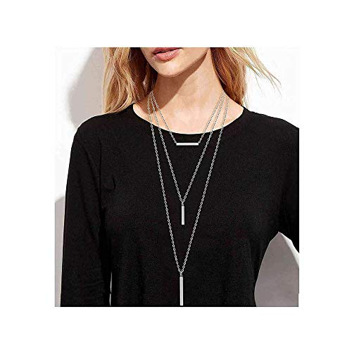 CEALXHENY Layered Necklaces Necklace Minimalist product image