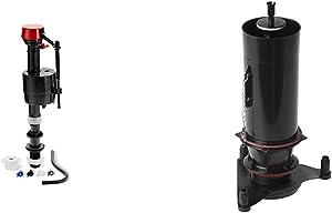 """Kohler Genuine Part Gp1083167 Silent Fill Valve Kit For All Kohler Class Five Toilets,12.5"""" x 3.5"""" x with KOHLER K-1117210 Flush Valve Kit, 1.28,Black"""