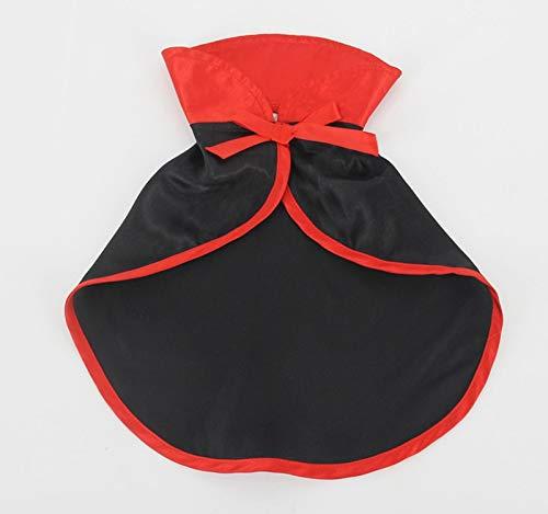 Autumn Water Cool Black Pet Cat Dog Halloween Costume Cosplay Cloak Shawls Cape Warm Scarf Wedding Birthday Party Gift Pet Supplies