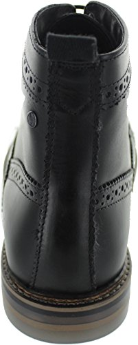 Mens Leather Nero London Boots Hurst Base q5f7vf