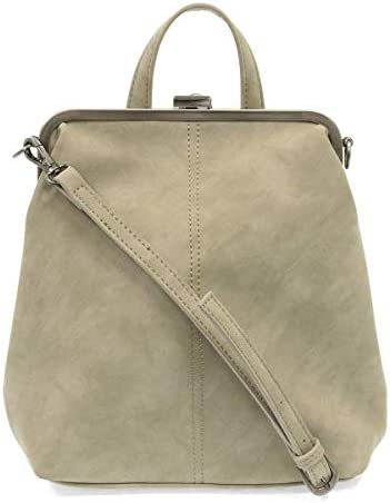 Joy Susan Phyllis Nubuck Frame Convertible Backpack