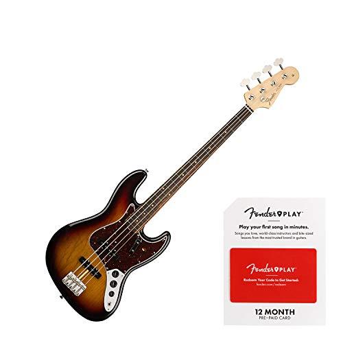 Fender American Original '60s Jazz Bass Electric Bass Guitar 3-Color Sunburst (SN:V1850711)