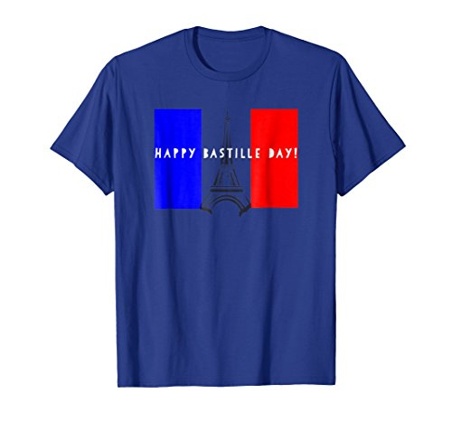 France Bastille Day Celebration Eiffel Tower Tee Shirt Gift