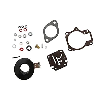 396701 Carb Repair Kits For Johnson Evinrude Carburetor 18 20 25 28 30 35 40 45 48 50 55 60 65 70 75 HP Outboard Motors with Floats: Automotive