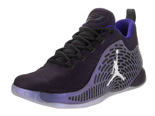 Jordan Nike Kids CP3.X Bg Purple Dynasty/White Black Basketball Shoe 4.5 Kids US (Basketball Shoes Jordan Cp3)
