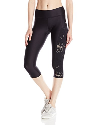 Used, Maaji Women's Midnight Harbor Running Capri, Black, for sale  Delivered anywhere in USA