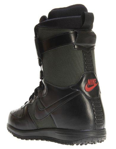Nike Zoom de snowboard Force 1Botas–Oscuro Army/black-brickhouse UK 12