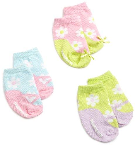 Trumpette Baby-girls Newborn Awchooo Flower Sock Set