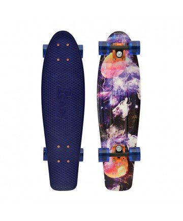 Penny Nickel Graphic Complete Skateboard, Hunting, 27-Inch